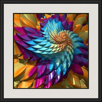 Fine Art Print 'Dragon Skin' - Art by Kinnally