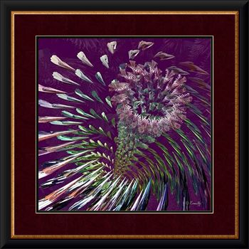 Fine Art Print 'Flowers for M'Lady' - Art by Kinnally
