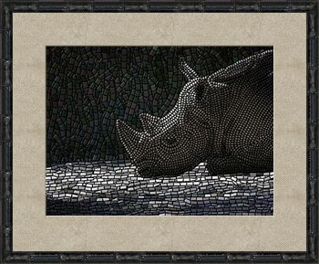 Fine Art Print 'Rhino Ruminations' - Art by Kinnally