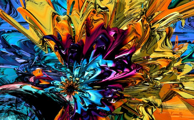 Fine Art Print 'A Little Splash of Color' - Art by Kinnally